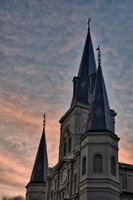 St. Louis Cathedral Twilight